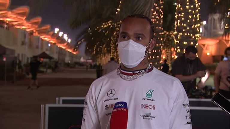 Lewis Hamilton is looking forward to a close battle with Red Bull for the 2021 season