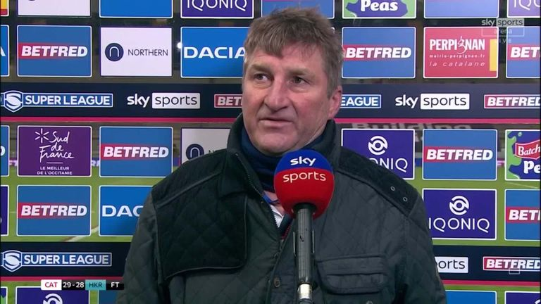 Hull KR head coach Tony Smith was disappointed with his side's poor start, but said he was proud of his players' fighting spirit