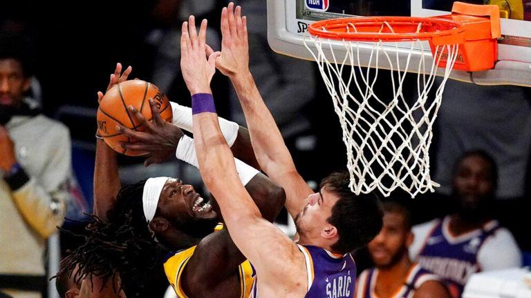 AP - Los Angeles Lakers center Montrezl Harrell
