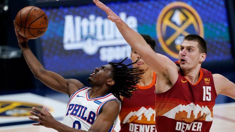 NBA Highlights: Nuggets v 76ers