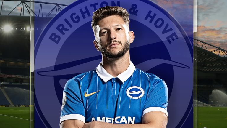 Adam Lallana has recovered from COVID and is now aiming to play a key role in Brighton's run-in