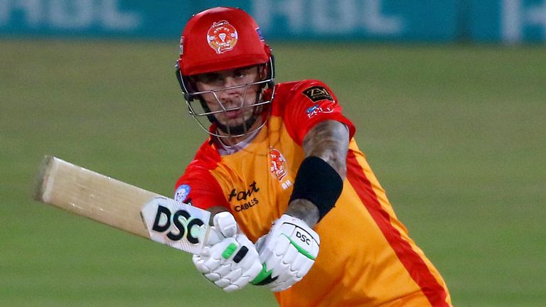 Alex Hales's absence will be keenly felt by Islamabad