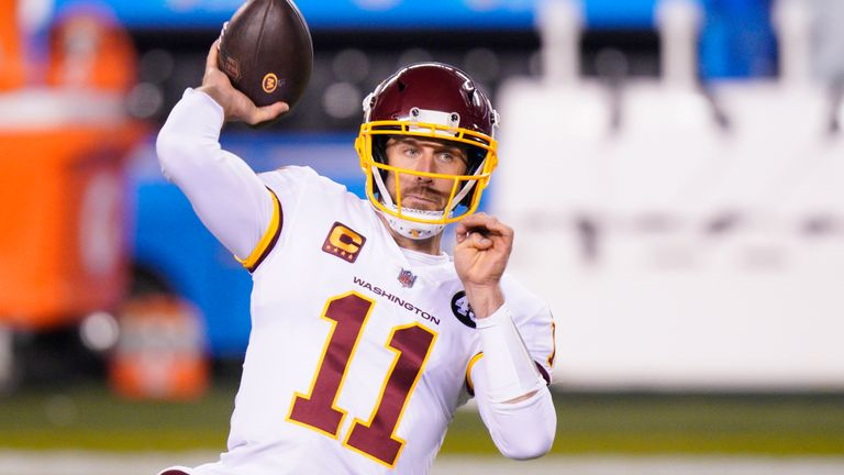 Alex Smith is on his way out of Washington