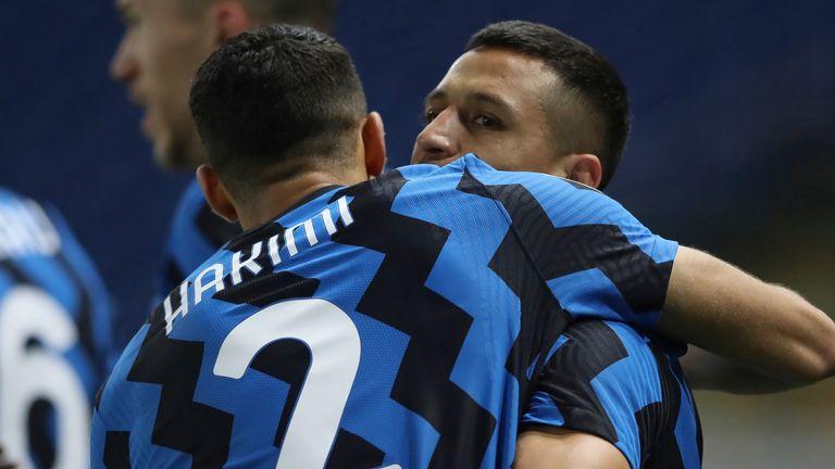 Alexis Sanchez was on target as Inter Milan overcame Parma