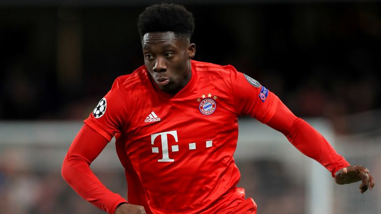 Alphonso Davies hopes his story can inspire others