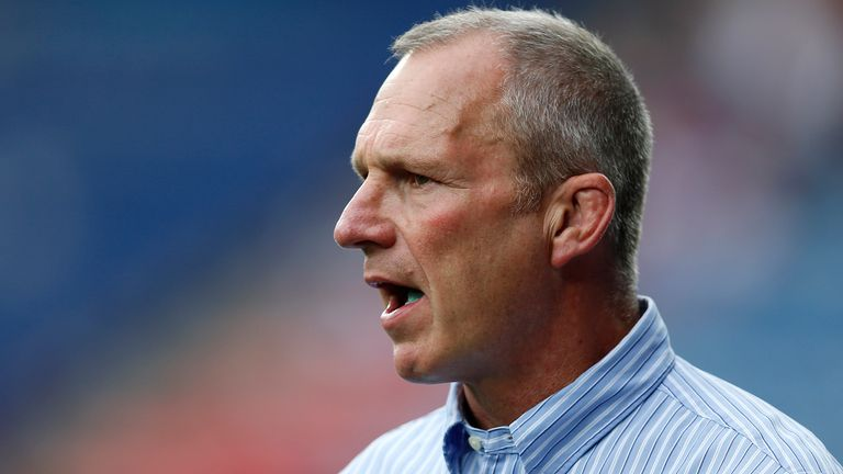 Huddersfield head of youth Andy Kelly had a big influence on Sam Luckley