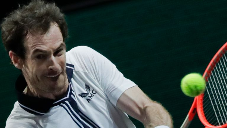 Murray was forced to withdraw from the Miami Open last month