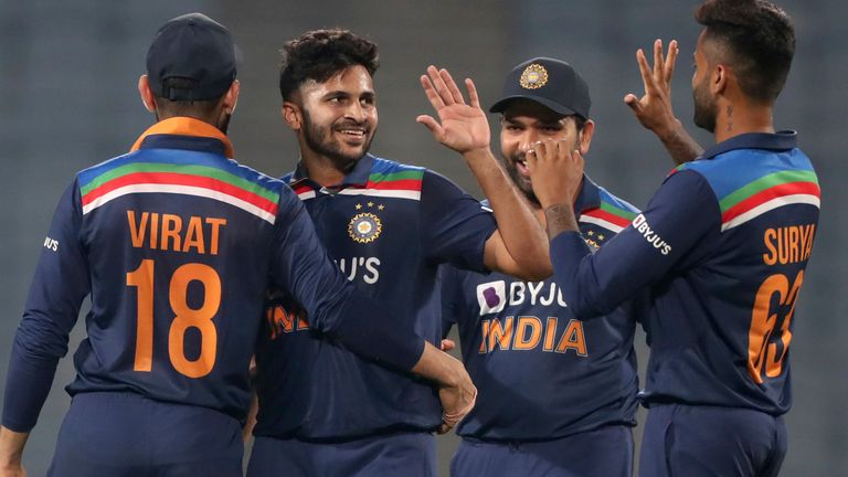 Shardul Thakur took crucial wickets in the middle overs again as India sealed a 2-1 ODI series win