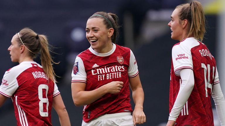 Katie McCabe scored Arsenal's third goal