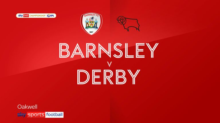 Barnsley v Derby Badge