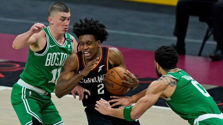 Highlights of the Boston Celtics against the Cleveland Cavaliers in Week 13 of the NBA.