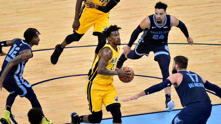 Highlights of the Miami Heat against the Memphis Grizzlies in Week 13 of the NBA.