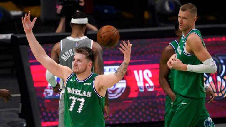 Luka Doncic starred for Dallas, scoring 42 points as the Mavericks eased past the Los Angeles Clippers.