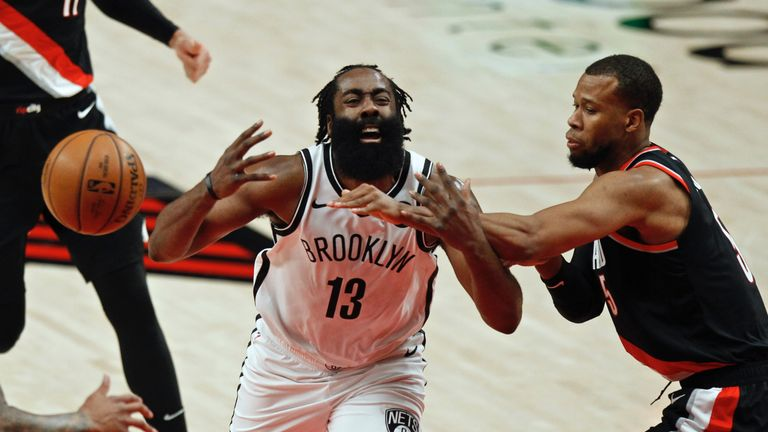 James Harden was hailed for his recent performances as Brooklyn bid to win the NBA title this season.