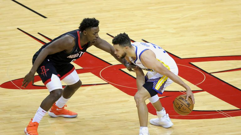 Highlights of the Golden State Warriors against the Houston Rockets in Week 13 of the NBA.