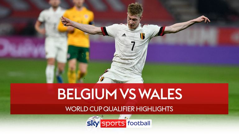 Belgium take on Wales in a World Cup Qualifier