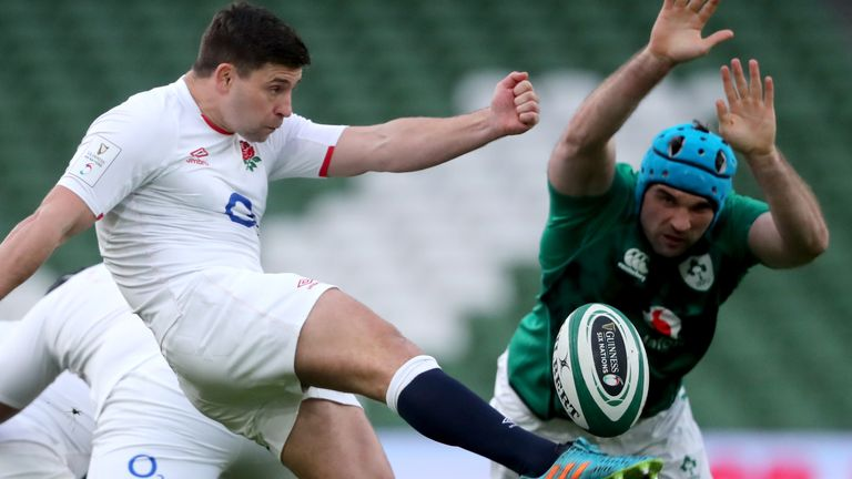 Ben Youngs' try could not help spark a comeback for England
