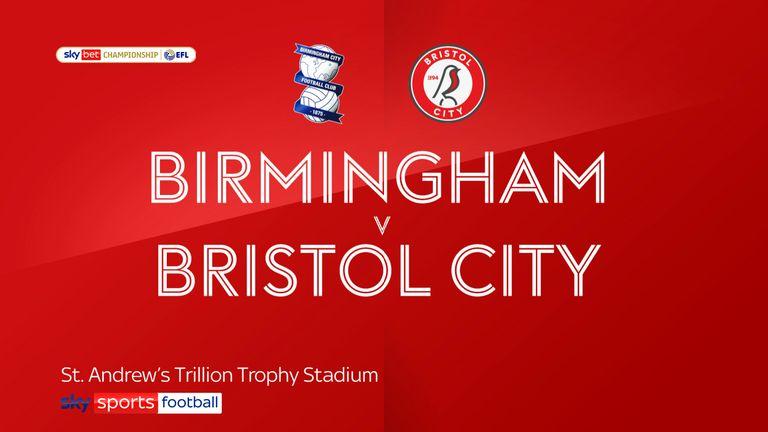 Birmingham v Bristol City