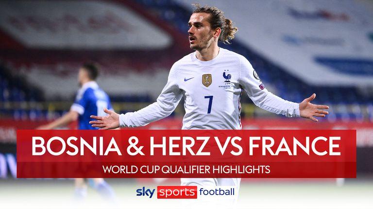 Bosnia vs Franța