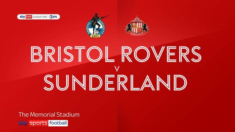 Bristol Rovers v Sunderland