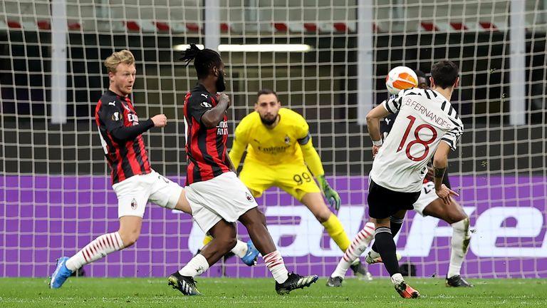 AC Milan 0-1 Man Utd (agg 1-2): Paul Pogba secures Europa League quarter-final spot