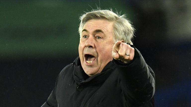 PA - Everton boss Carlo Ancelotti