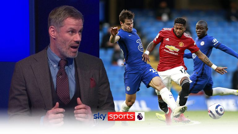 Manchester United need a high-quality striker to achieve title aspirations, says Jamie Carragher |  Football News