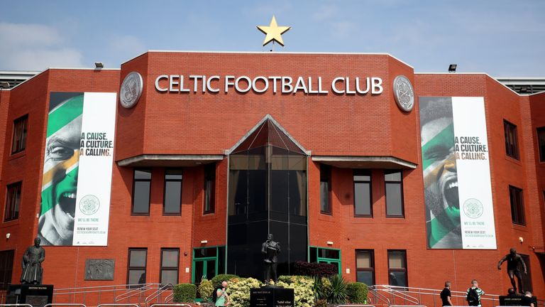 Celtic are set to host newly-crowned Scottish Premiership champions Rangers on Sunday - live on Sky Sports