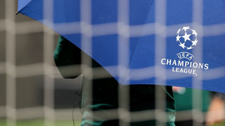 AP - Champions League logo GV