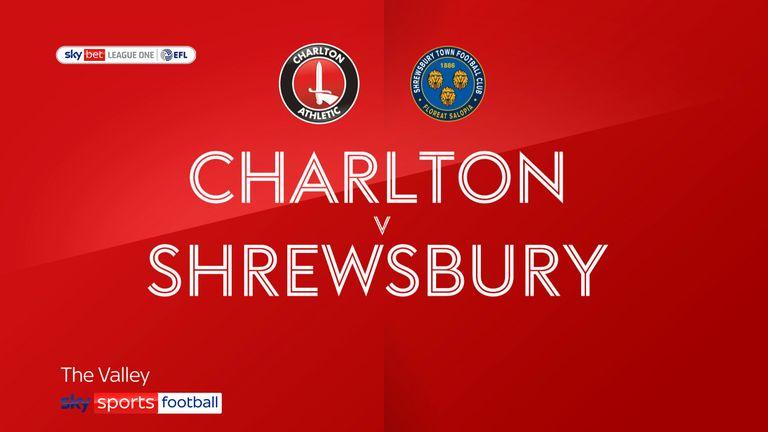 Charlton v Shrewsbury badge