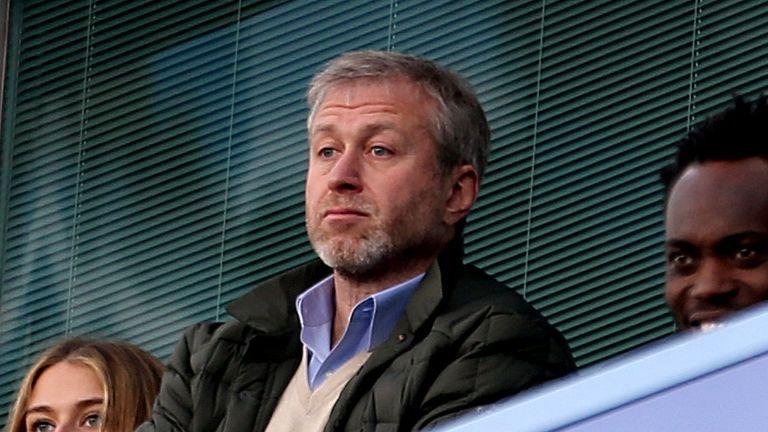 Roman Abramovich bought Chelsea from Ken Bates in 2003
