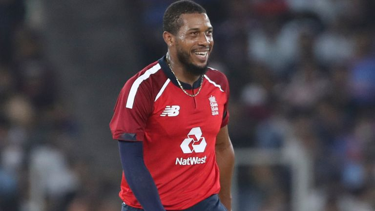 Chris Jordan (pictured), Tom Curran and Ben Stokes shipped 81 runs from a combined 5.5 overs in the second T20