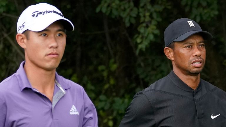Collin Morikawa and Tiger Woods are among the talking points in this week's Sky Sports Golf podcast