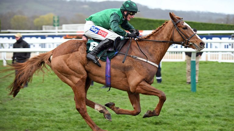 Concertista, ridden by Daryl Jacob, wins the Mares Novices Hurdle at Cheltenham last year