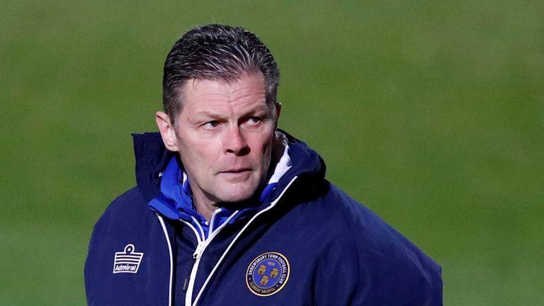 GETTY - Shrewsbury boss Steve Cotterill
