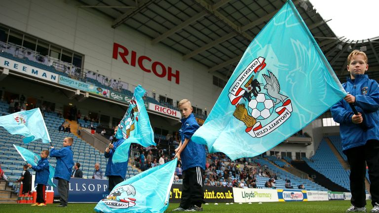 Coventry at the Ricoh Arena (PA)
