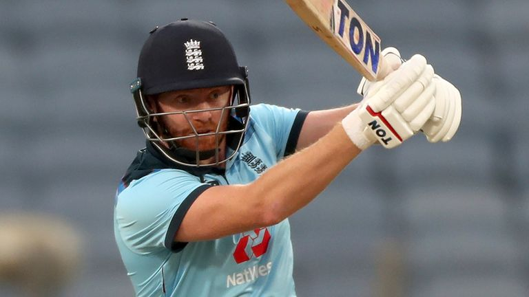 Jonny Bairstow scored a blistering 94 but England crumbled after his dismissal