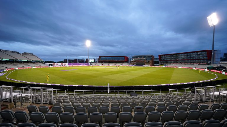 English domestic cricket was played behind closed doors for all of last season