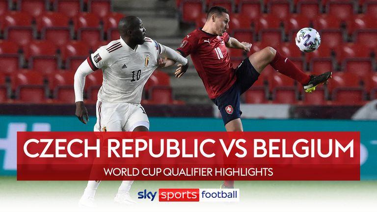 Czech Republic v Belgium