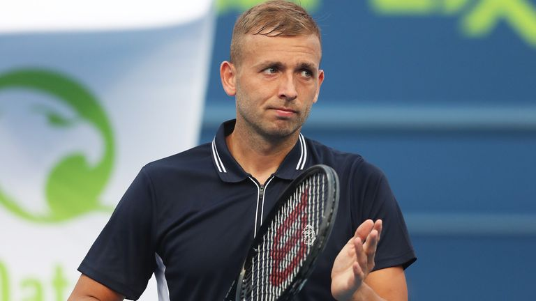 Dan Evans podľahol Aslanovi Karatsevovi na dubajských majstrovstvách v Duty Free Tennis