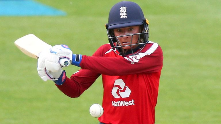 Danni Wyatt top-scored with 33 in the England run chase
