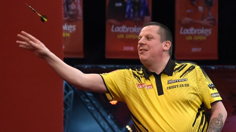 Dave Chisnall is looking for his first ever major