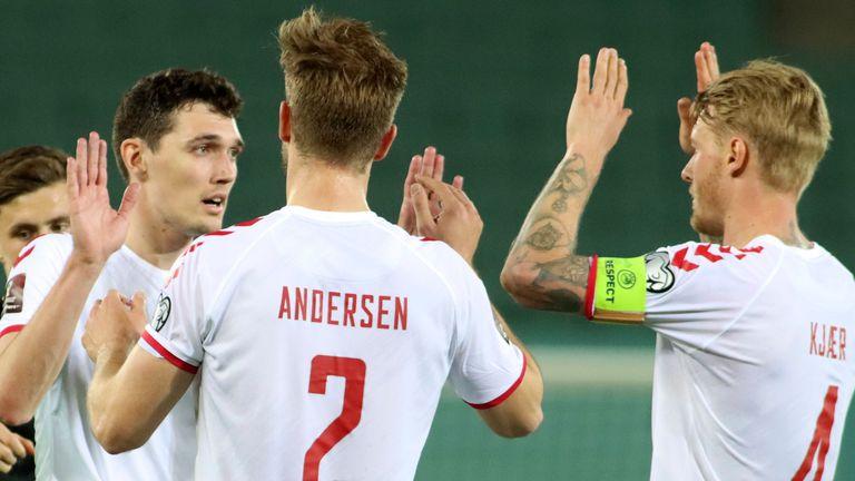 Denmark were convincing winners against Austria