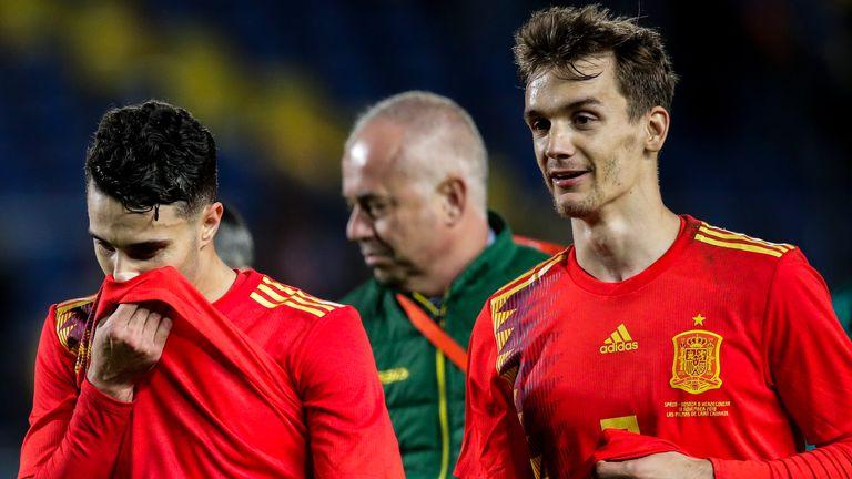 Ο Diego Llorente εκπροσώπησε την Ισπανία έξι φορές