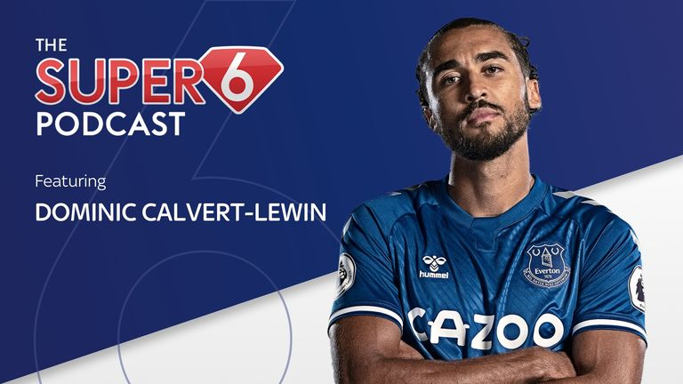 Dominic Calvert-Lewin sits down with the Super 6 Podcast to discuss his career so far.