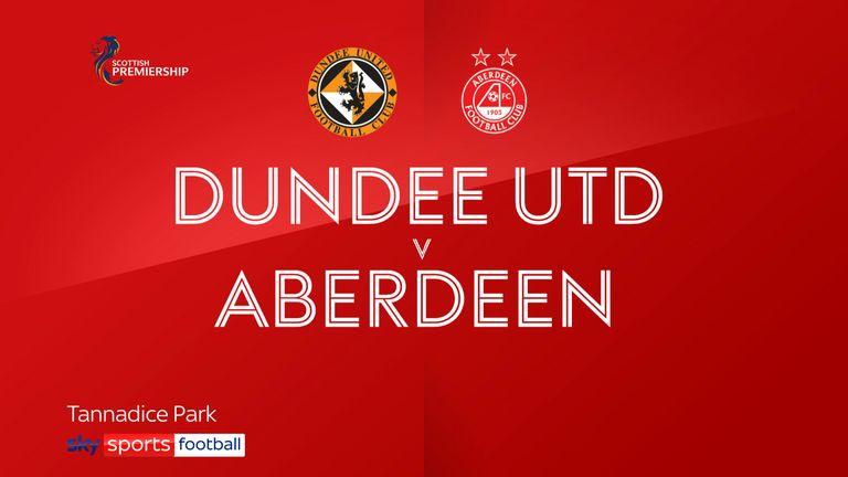 Dundee Utd v Aberdeen badge