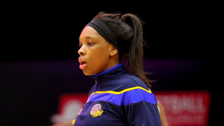 Eboni Usoro-Brown is an England centurion and a member of Team Bath Netball's leadership group (Image Credit - Ben Lumley)