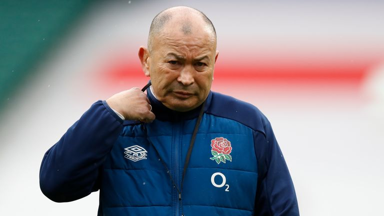 Eddie Jones could only lead England to a fifth-place finish in the Six Nations
