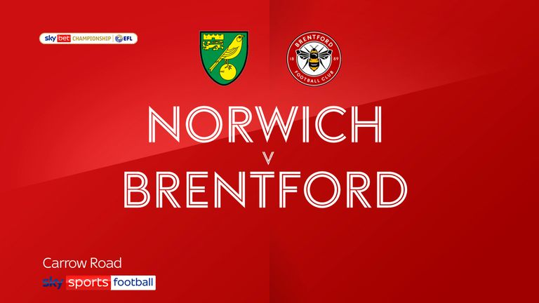 NORWICH V BRENTFORD