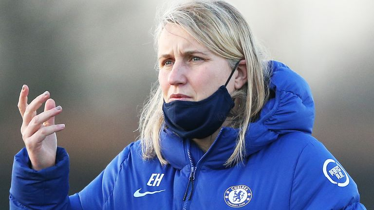 Chelsea women's manager Emma Hayes (PA)